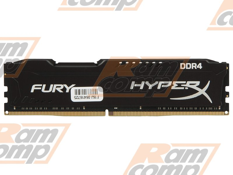 "Модуль памяти 16ГБ DDR4 SDRAM Kingston ""HyperX FURY"" HX432C18FB/16 (PC25600, 3200МГц, CL18)"