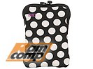 "Чехол BUILT ""Neoprene E-reader/Tablet Sleeve 7-8"" E-ES8-BBW"" для цифровых устройств 7-8"", Big Dot Black & White"