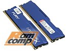 "Модуль памяти 2x4ГБ DDR3 SDRAM Kingston ""Hyper X"" HX316C10FK2/8 (PC12800, 1600МГц, CL10)"