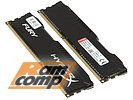 "Модуль памяти 2x4ГБ DDR3 SDRAM Kingston ""Hyper X"" HX316C10FBK2/8 (PC12800, 1600МГц, CL10)"