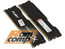 "Модуль памяти 2x4ГБ DDR3 SDRAM Kingston ""HyperX FURY"" HX318C10FBK2/8 (PC14900, 1866МГц, CL10)"