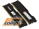 "Модуль памяти 2x4ГБ DDR3 SDRAM Kingston ""HyperX FURY"" HX313C9FBK2/8 (PC10600, 1333МГц, CL9)"
