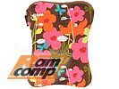 "Чехол BUILT ""Laptop Sleeve E-LS15-FSH"" для ноутбука 14-15"", French Bull Shadow Flower"